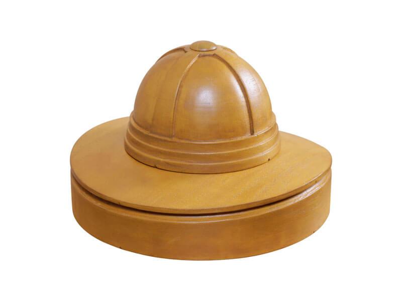 Horma para sombrero Salacot completo